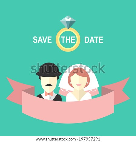 wedding romantic invitation