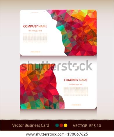 Vector Des Carte Visite Free Download 3031 For