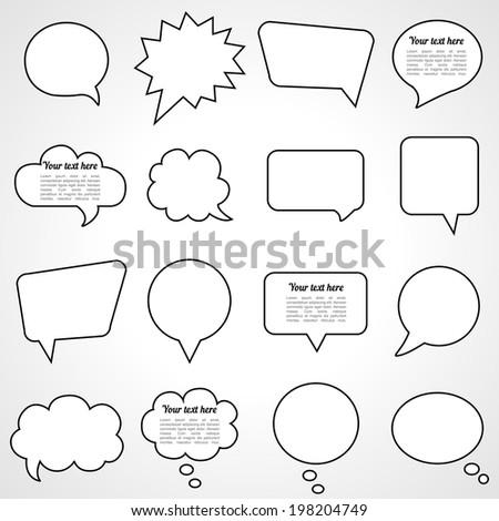 dialogue cloud vector