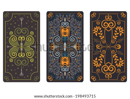 vector illustration for tarot