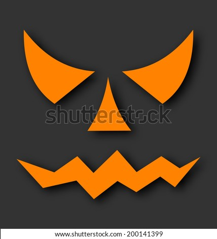 illustration jack o lantern