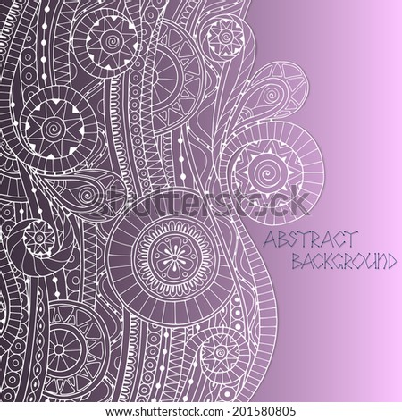 vector floral decorative