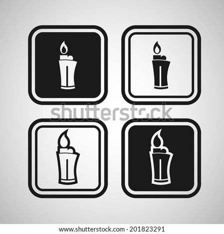 lighter fire icon