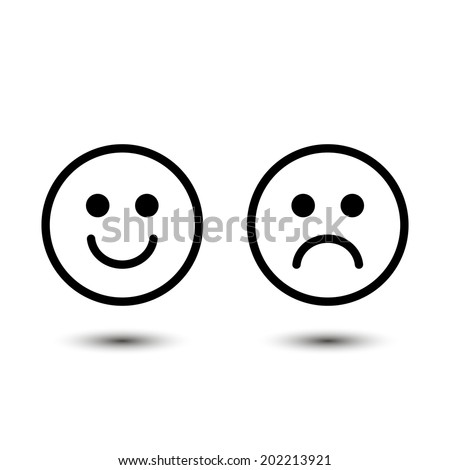 smile  vector icons