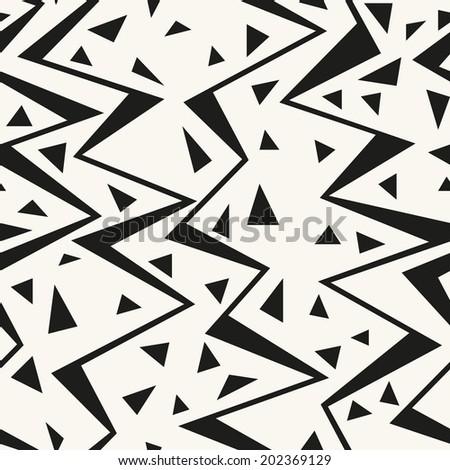 seamless pattern zigzag