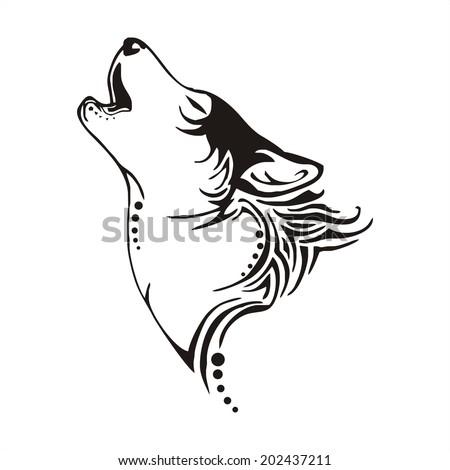 leader wolf bay tribal tattoo