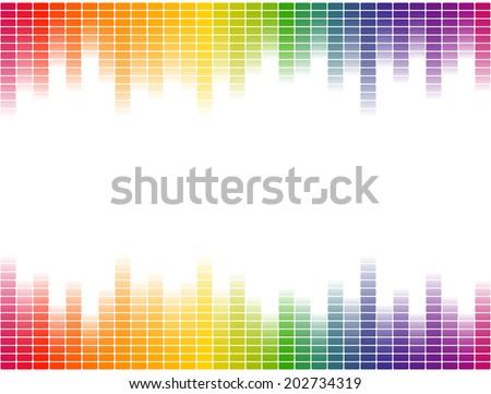 digital equalizer background