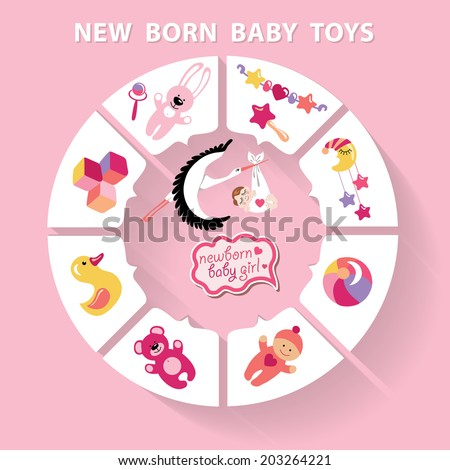cute baby born toys infographic