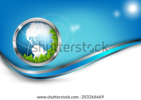 abstract environmental vector