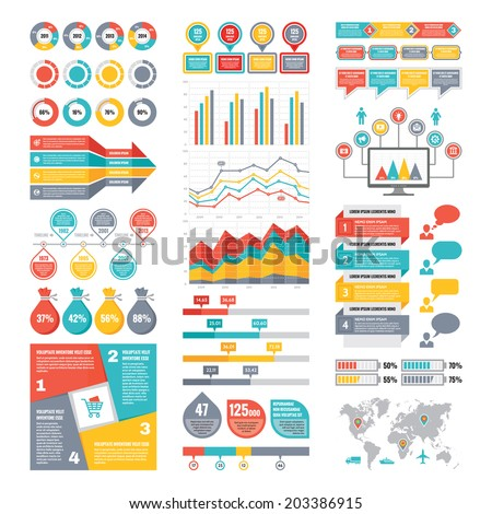 stock-vector-infographic-elements-collection-business-vector-illustration-in-flat-design-style-for