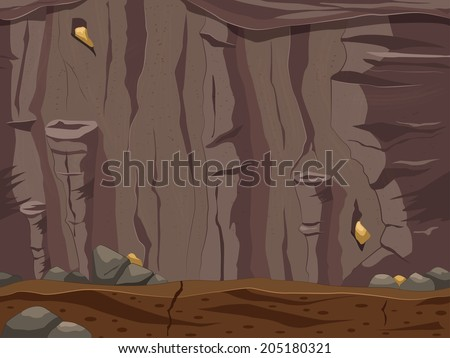 game locations cave vector