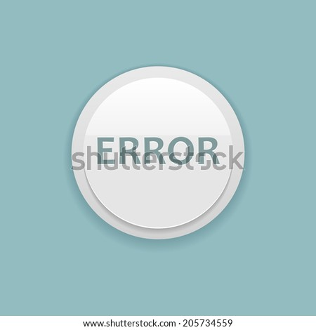 bright vector error button