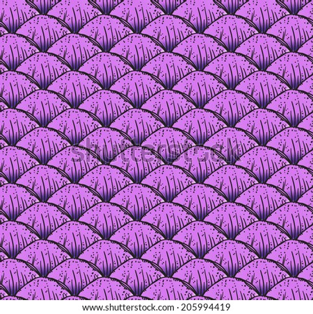 fish scales texture dragon