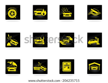 Auto Insurance Clipart Car Insurance Icons Clipart
