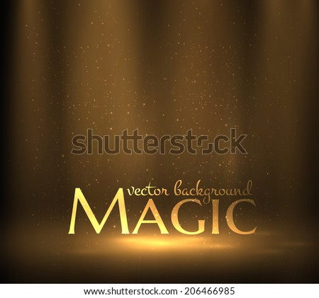 magic light background vector