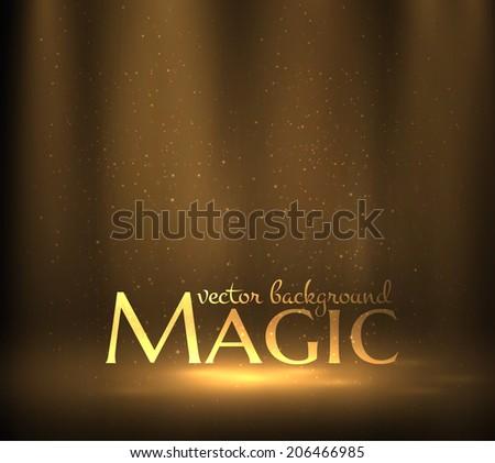 magic light background vector