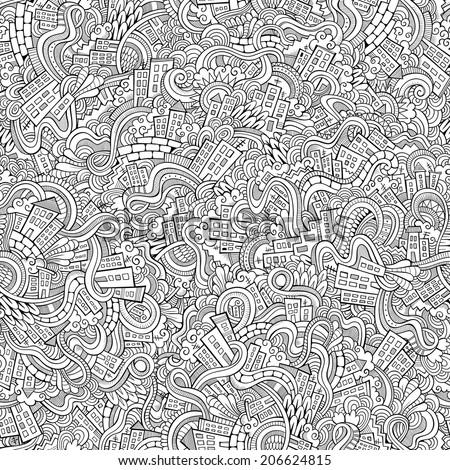 cartoon vector doodles hand