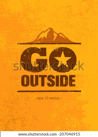 go outside mountain adventure