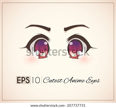 cutest anime eyes