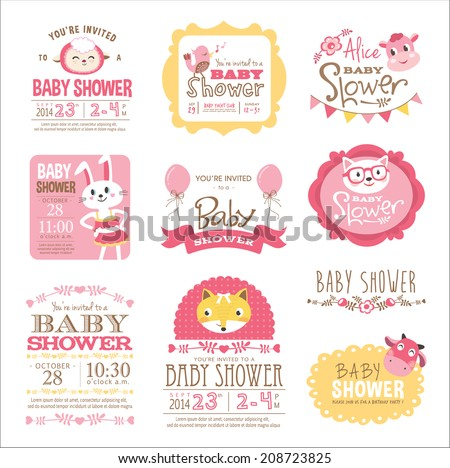 baby arrival and shower