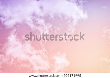 a soft diffused cloud abstract