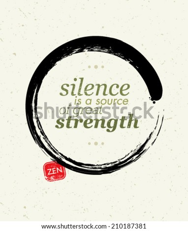 silence is a source of great