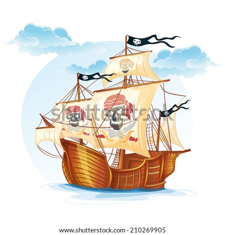 image caravel ship pirates xv