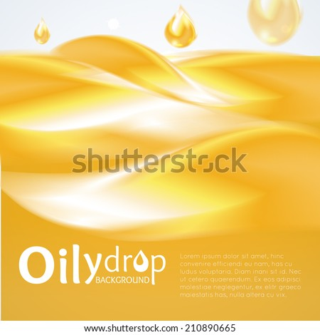 oily drop background