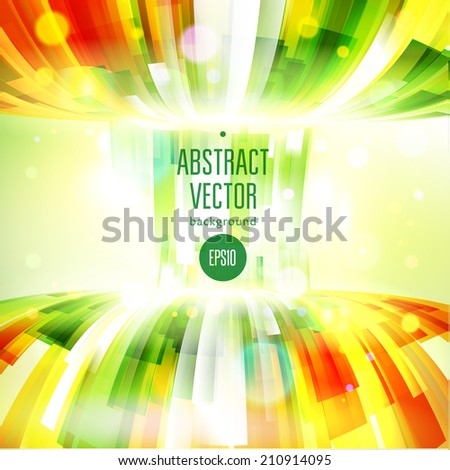 abstract colorful communication