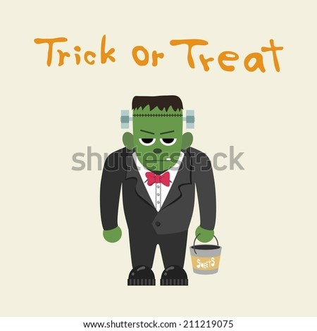 frankenstein  trick or treat