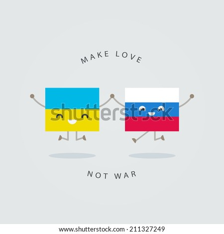 make love not war  ukraine and