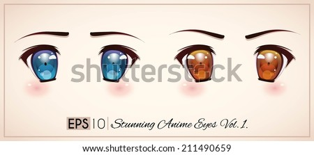 stunning anime eyes vol3