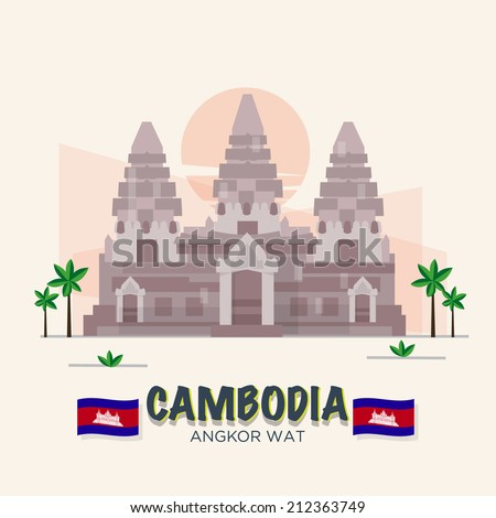 angkor wat cambodia landmark