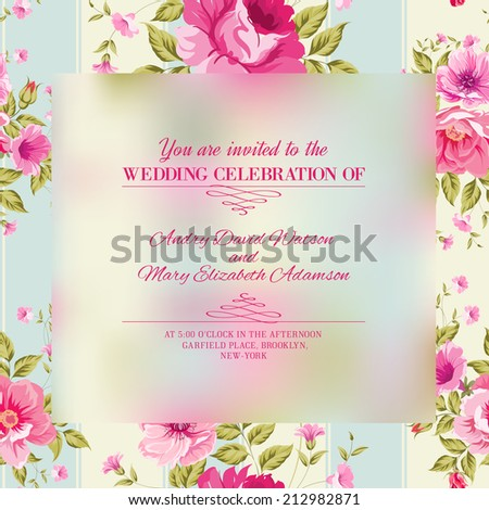 roses  floral wallpaper with