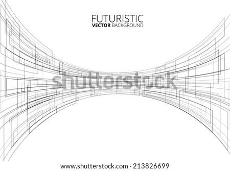 white futuristic sci fi