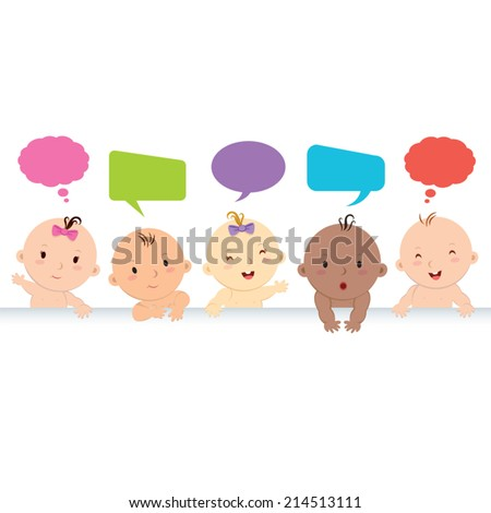 multiracial babies with speech