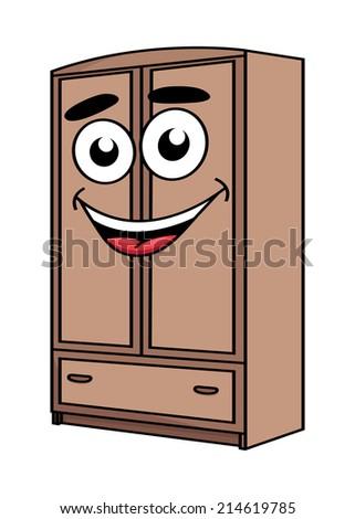 happy cartoon cute wardrobe