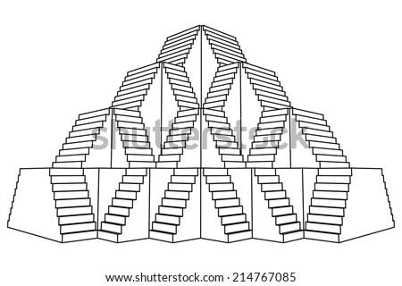 pyramid design construction