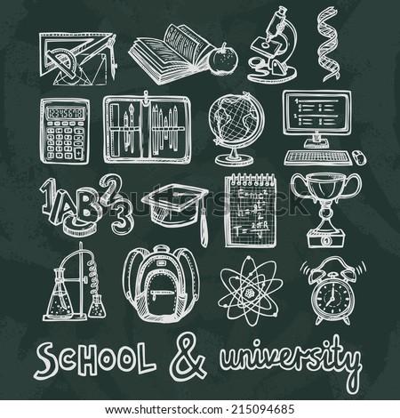 retro school and university
