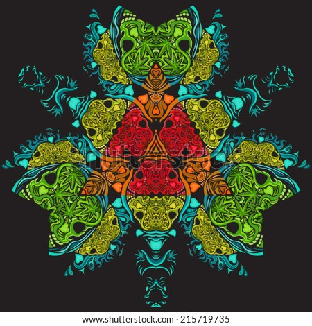 psychedelic marijuana