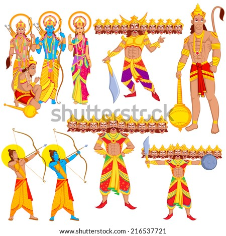 lord rama  laxmana  sita with