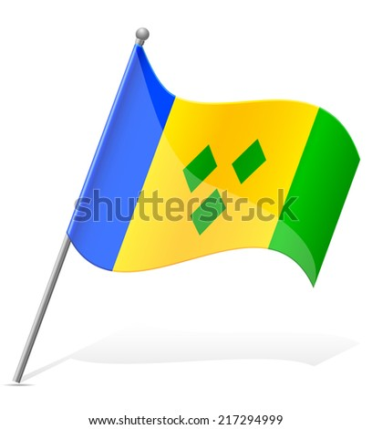 flag of saint vincent to