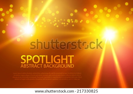 colorful spotlight for your