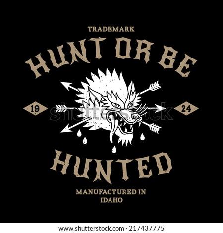 vintage label hunt or be hunted