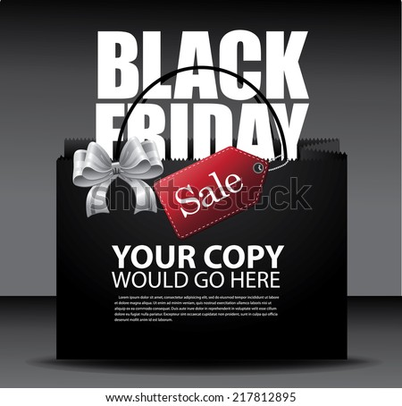 black friday sale design eps10