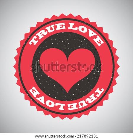 true love design   vector