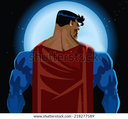 superhero back on moonlight