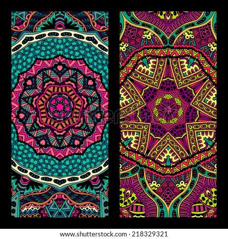 festive tribal vintage colorful
