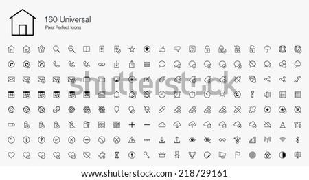 universal pixel perfect icons