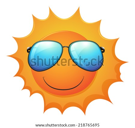 illustration of the sun on a